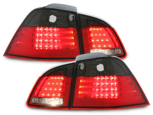 LED taillights BMW E61 Touring 04-10_ red/smoke