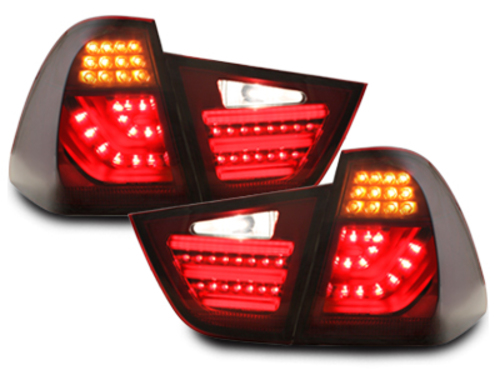 carDNA LED taillights BMW E91 LCI 3er Touring. 08-11 _ red/smoke