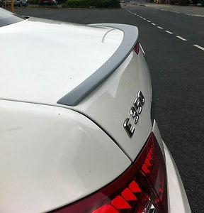 Rear Spoiler Mercedes-Benz C207 E-Class Coupe AMG Style (2009-up)