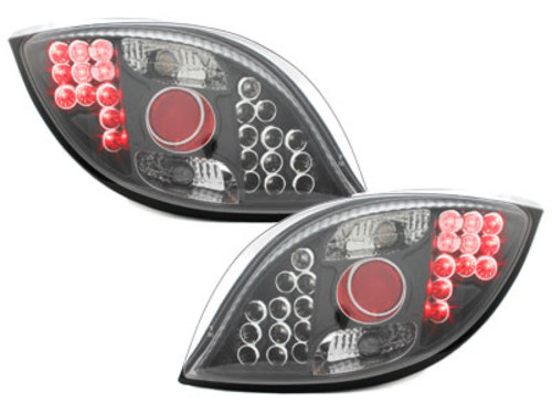 LED taillights Ford KA 96-08 _ black