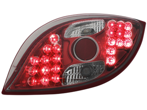 LED taillights Ford KA 96-08 _ red/crystal