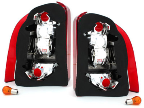 taillights Ford Mondeo Turnier 93-00 _ red/crystal
