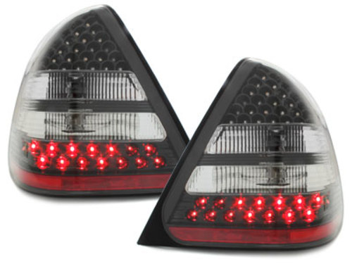 LED taillights Mercedes Benz W202 94-00 _ C-Class _ black
