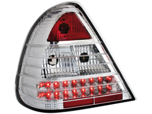 LED taillights Mercedes Benz W202 94-00 _C-Class _crystal
