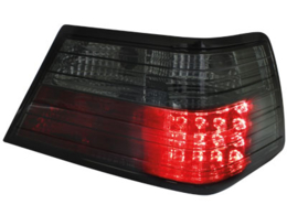 LED taillights Mercedes Benz W124 84-93 _ E-class _ black
