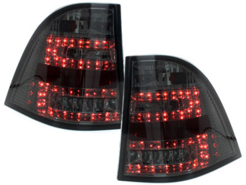 LED taillights Mercedes Benz W163 _ M-Klasse _ red/black