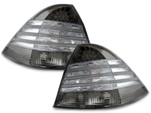 LED taillights Mercedes Benz W220 S classasse_98-05_blk/smok