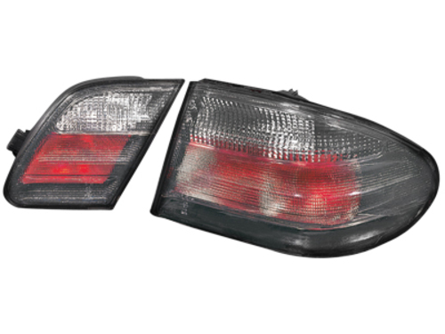 taillights Mercedes Benz W210 E class 95-02_smoke