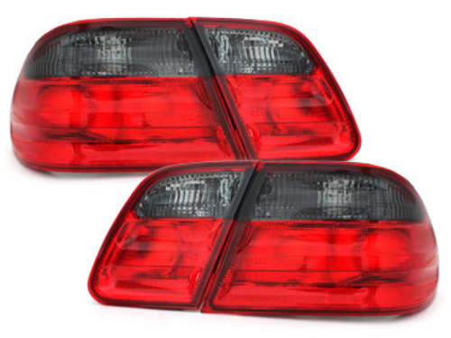 taillights Mercedes Benz E-Class W210 95-02 _ red/black
