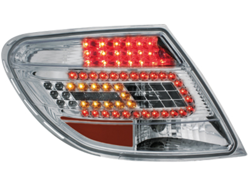 LED Taillights Mercedes Benz C-Class W204 07+ crystal