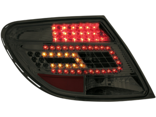 LED Taillights Mercedes Benz C-Class W204 07+ smoke