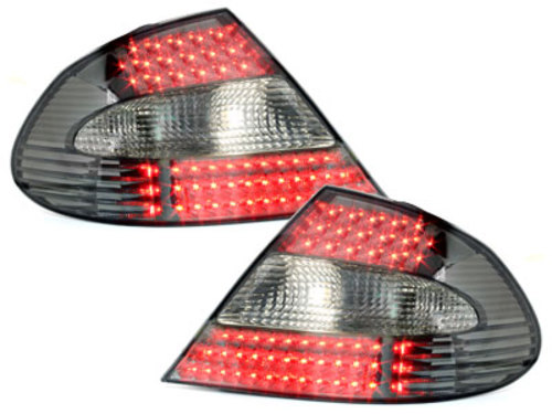 LED taillights Mercedes Benz Clk W209 07  _smoke