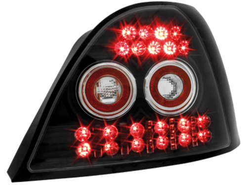 LED taillights Rover 200 95-00 _ black