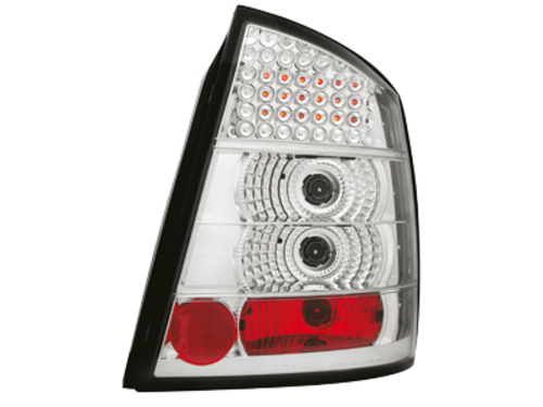 LED taillights Opel Astra G 98-04 _ crystal