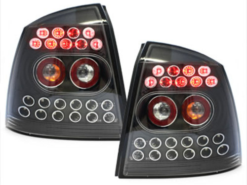 LED taillights Opel Astra G 98-04 _ black