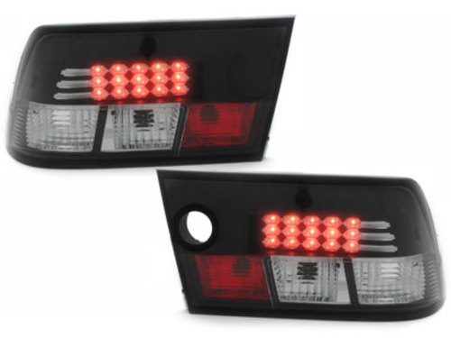 LED taillights Opel Calibra 90-98 _ black