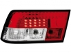 LED taillights Opel Calibra 90-98 _ red/crystal