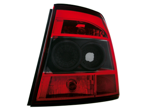 taillights Opel Vectra B 10.95-99 _ red/crystal