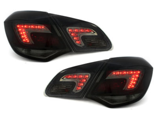 LED taillights Opel Astra J 2009+ smoke