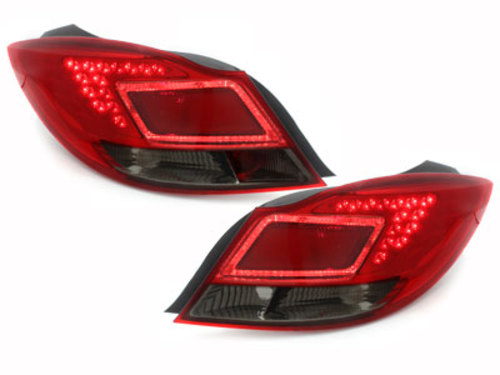 LED taillights Opel Insignia 11.08+ _ red/smoke