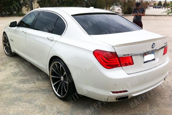 Roof  Spoiler BMW 7 Series F01 (2008-up)