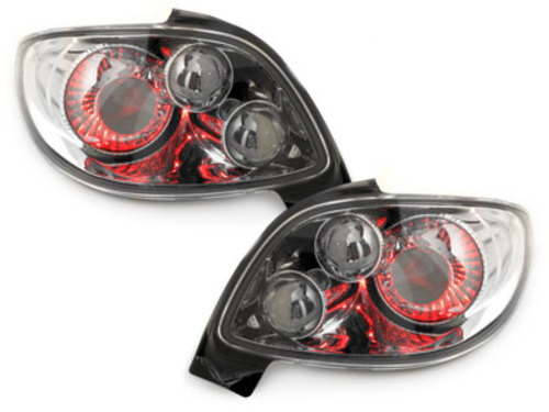 taillights Peugeot 206cc 98-09_chrome style