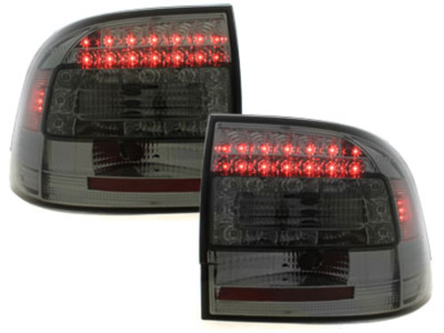 LED taillights Porsche Cayenne 03-07_red/crystal
