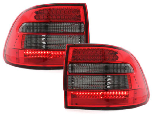 LED taillights Porsche Cayenne 03-07_red/smoke