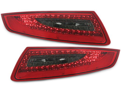 LED taillights Porsche 911 / 997 04-08_red/smoke