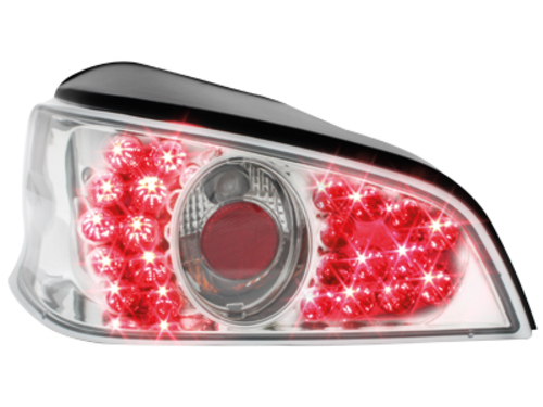 LED taillights Peugeot 106 96-99 _ crystal