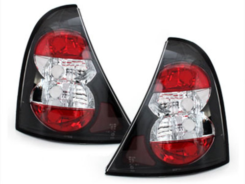 taillights Renault Clio II 98-01_ black