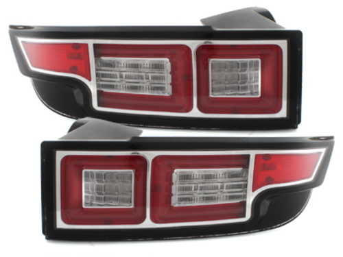 **FULL-LED Taillights Range Rover Evoque_2011+_black/chrome