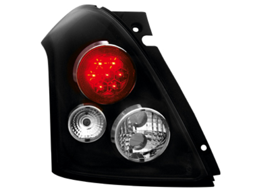 LED taillights Suzuki Swift 05-10_black