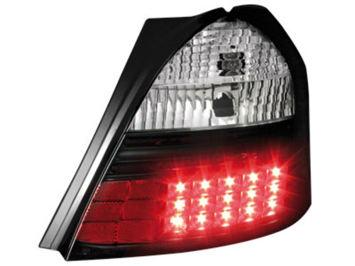 LED taillights Toyota Yaris 05+ _ black