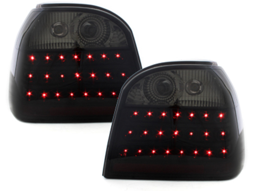 LED taillights VW Golf III 91-98_black