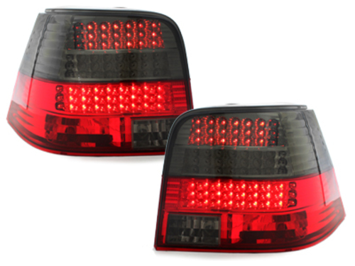 LED taillights suitable for VW Golf IV 97-04 _red/smokel_LED indicator