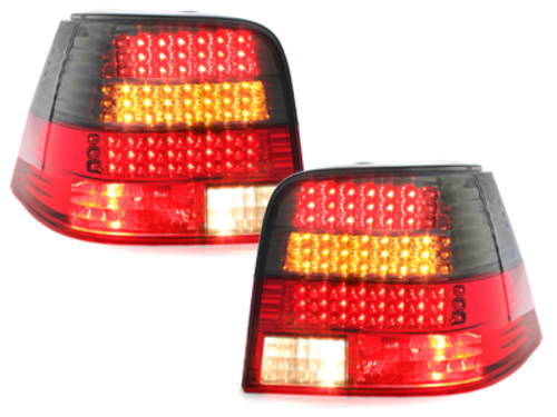 LED taillights VW Golf IV 97-04_red/smoke_LED indicator