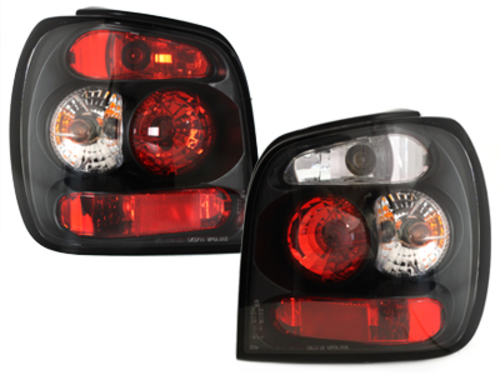 taillights VW Polo 6N 95-98 _ black