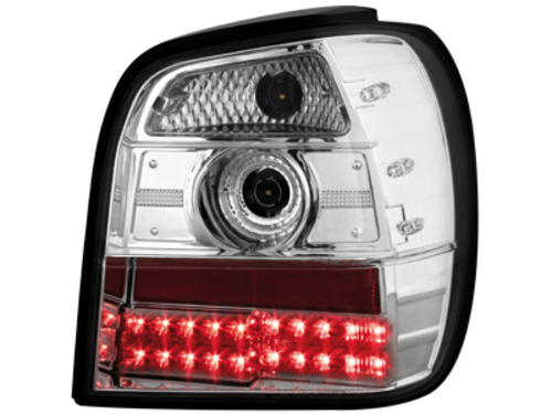 LED taillights VW Polo 6N 95-98 _ crystal