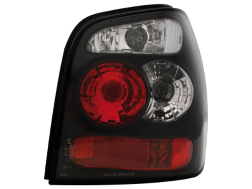 taillights VW Polo 6N2 99-01 _ black