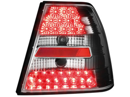 LED taillights VW Bora 4D 99-05 _ black