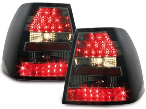 LED taillights VW Bora_99-05_black/smoke
