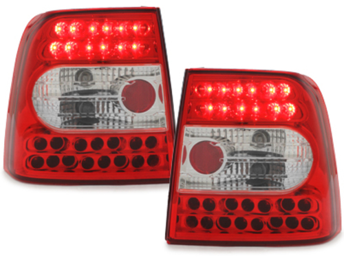 LED taillights VW Passat 3B Lim. 97-01 _ red/crystal