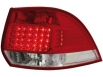 LED taillights VW Golf V 03-09 _ red/crystal