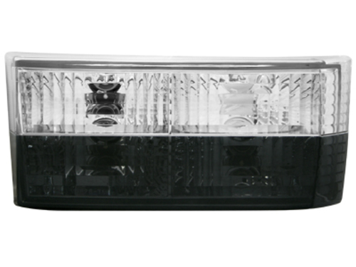 taillights VW Golf I 74-80 _ black/clear