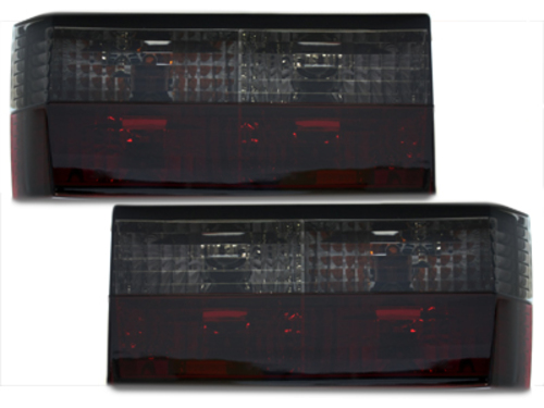 taillights VW Golf I 74-80 _ red/black