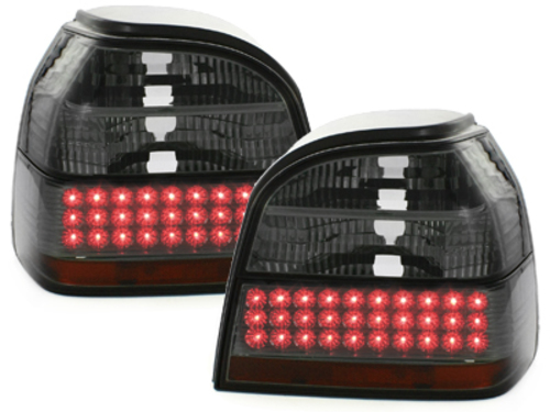 LED taillights VW Golf III 91-98 _ black