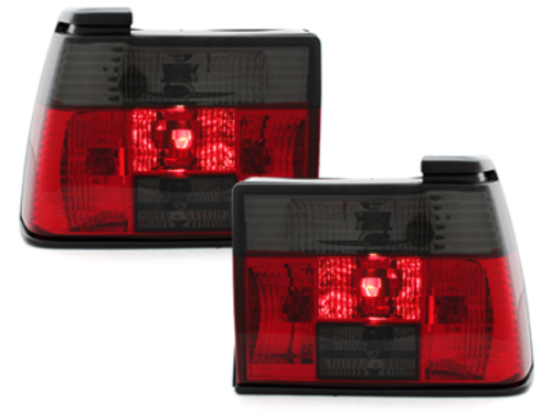 taillights VW Jetta II (19E) 1/84-12/92 _ red/black