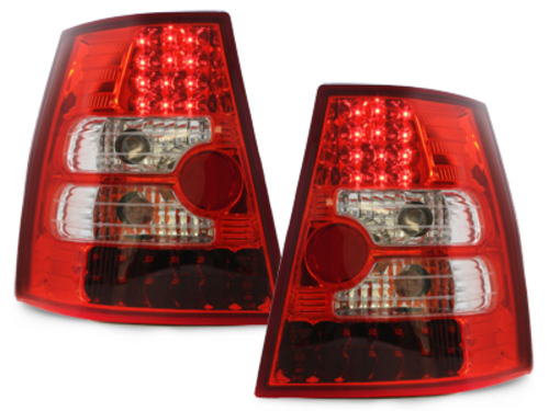 LED taillights VW Bora Variant + Golf IV Variant _ red/cryst