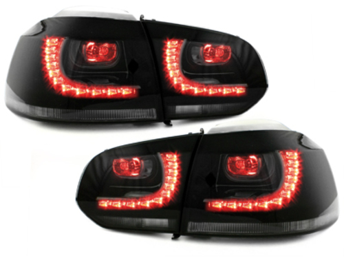 LED taillights VW Golf 6 VI 08+ smoke R-Look